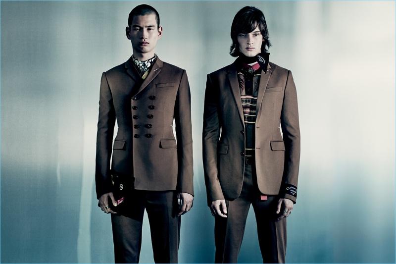 Kohei Takabatake and Sasha Komissarov come together for Dior Men's fall-winter 2018 campaign.