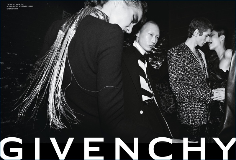 Steven Meisel photographs Givenchy's fall-winter 2018 campaign.