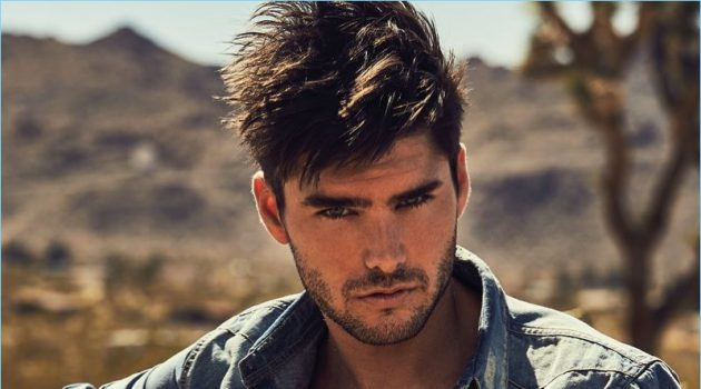 Charlie Matthews is a GUESS Guy, Heads to Joshua Tree for Fall '18 Campaign