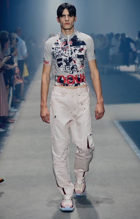 HUGO Channels 90s Berlin Style for Spring '19 Collection