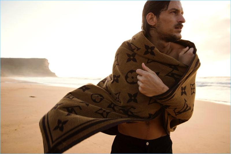 Jarrod Scott Makes a Splash in Louis Vuitton