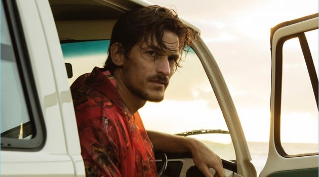 Jarrod Scott Makes a Splash in Louis Vuitton
