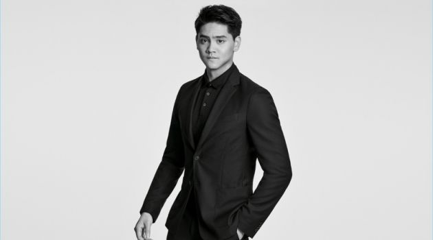 Joseph Schooling Stars in BOSS Washable Suit Campaign
