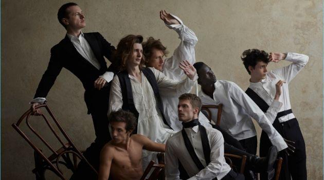 Abiti Da Sera: Rogier Bosschaart, Benno Bulang + More for L'Uomo Vogue