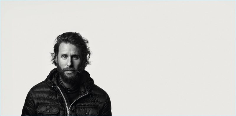 Environmentalist David De Rothschild for Moncler BEYOND campaign.