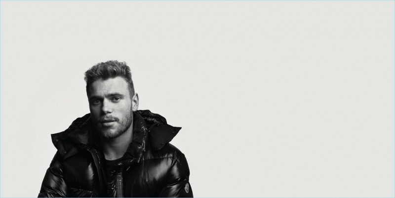 Freestyle skier Gus Kenworthy for Moncler BEYOND campaign.