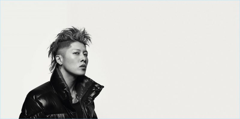 Music Artist Miyavi for Moncler BEYOND campaign.