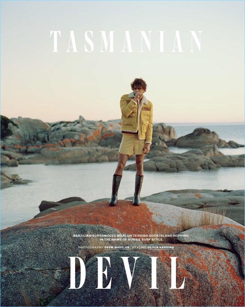 Tasmanian Devil: Marlon Teixeira for GQ Australia