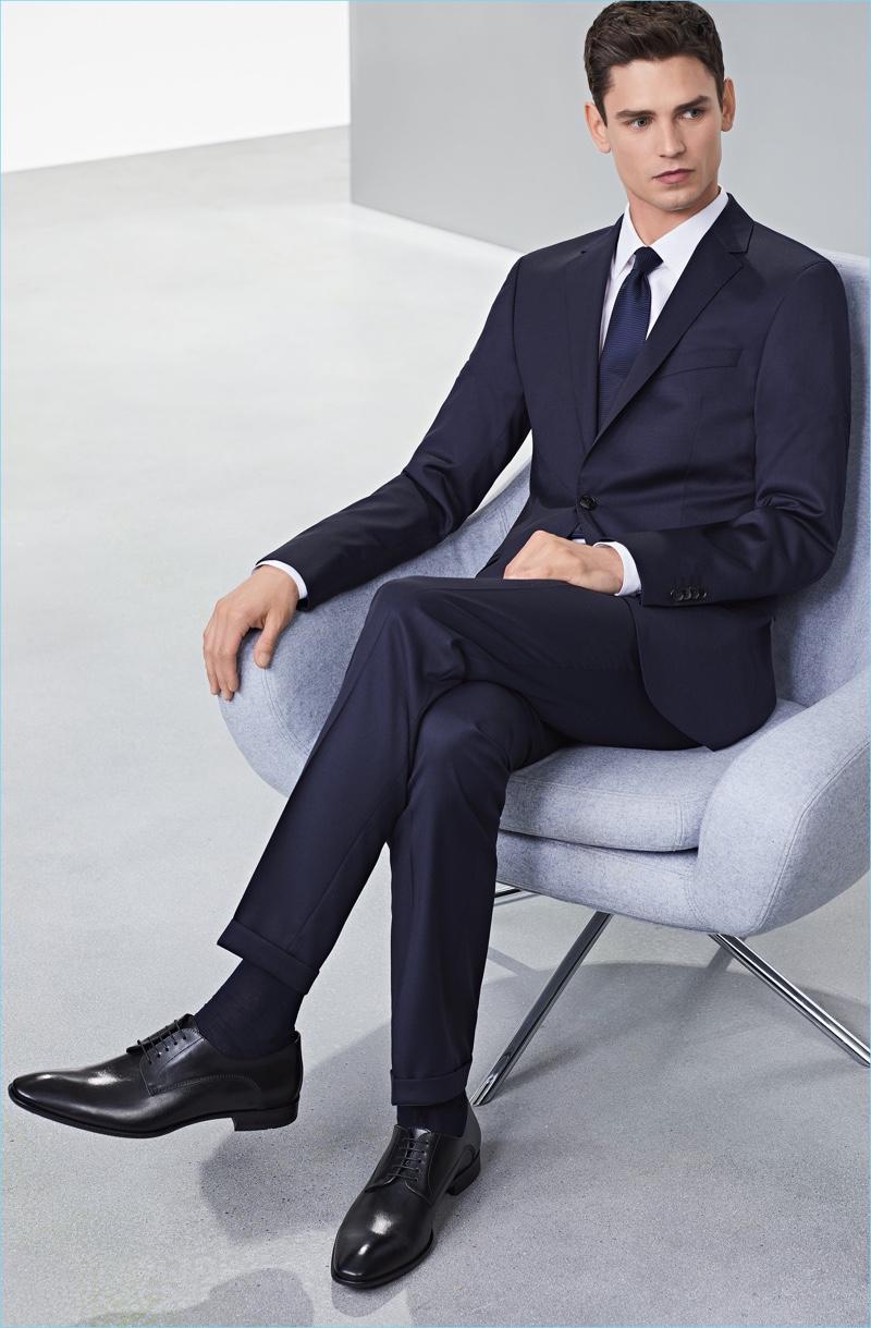 Hugo Bosss Dress Shoes