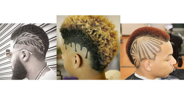 New Mohawk Black Haircut Designs