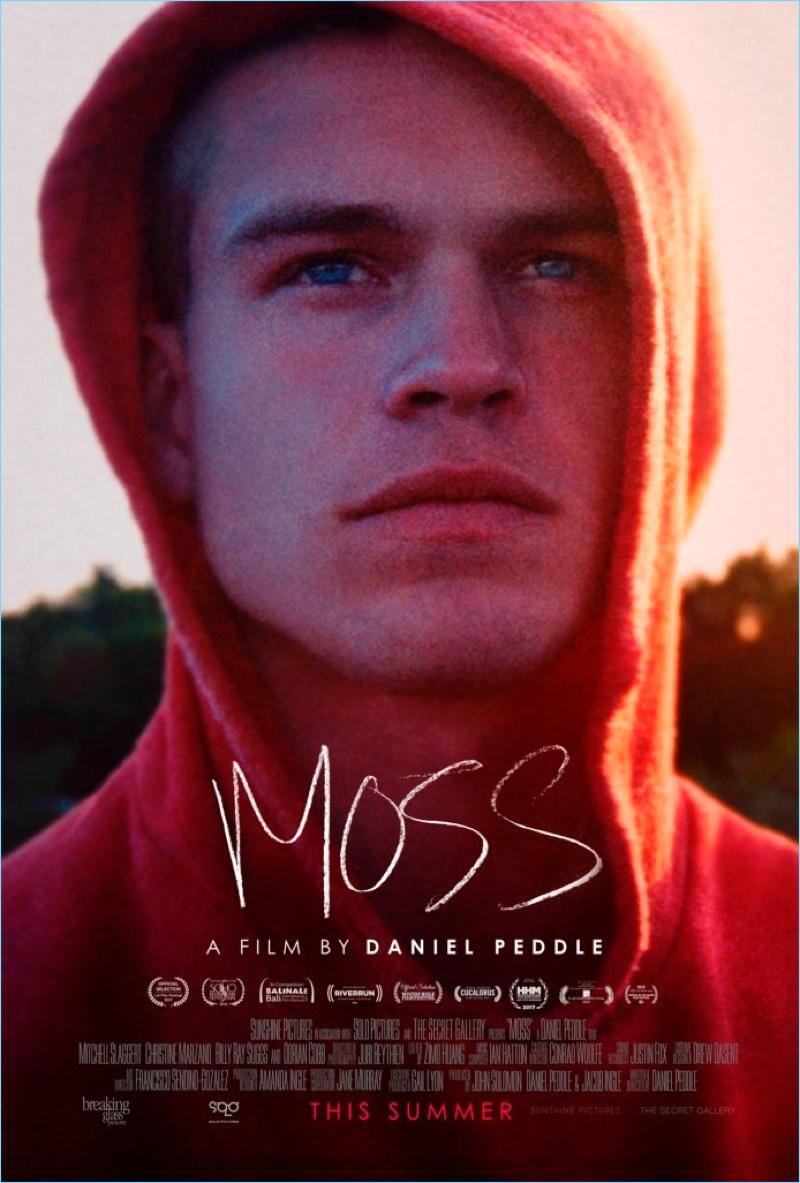 Poster Artwork for Moss starring Mitchell Slaggert.