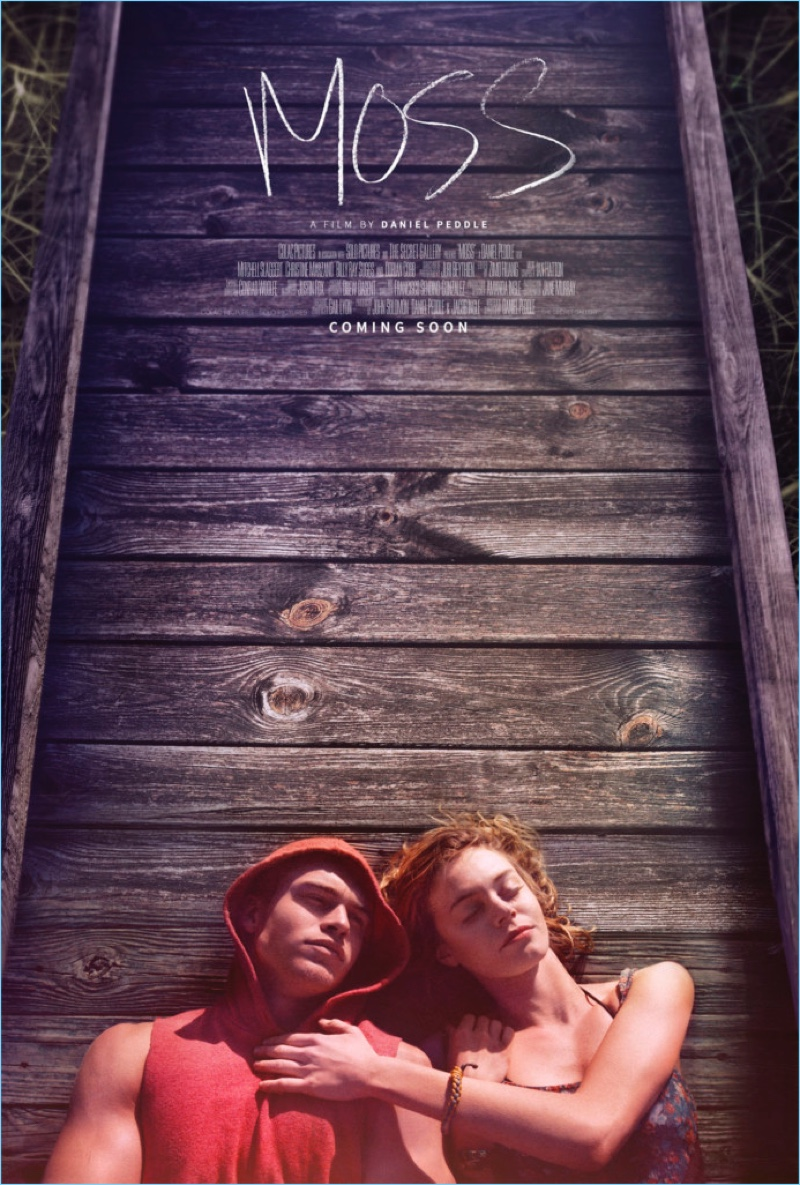 Christine Marzano and Mitchell Slaggert appear in poster artwork for Moss.