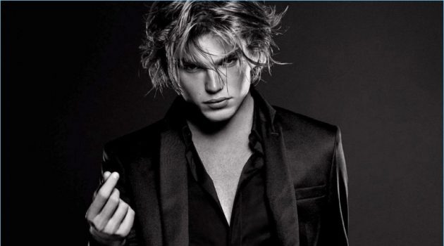 Jordan Barrett Reunites with Paco Rabanne for Million Lucky Fragrance Campaign