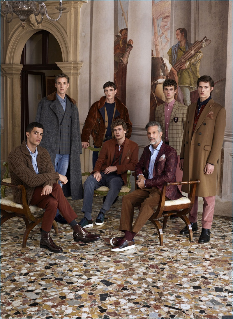 Pal Zileri unveils its fall-winter 2018 campaign.