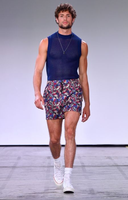 Parke & Ronen unveils its spring-summer 2019 collection during New York Fashion Week.