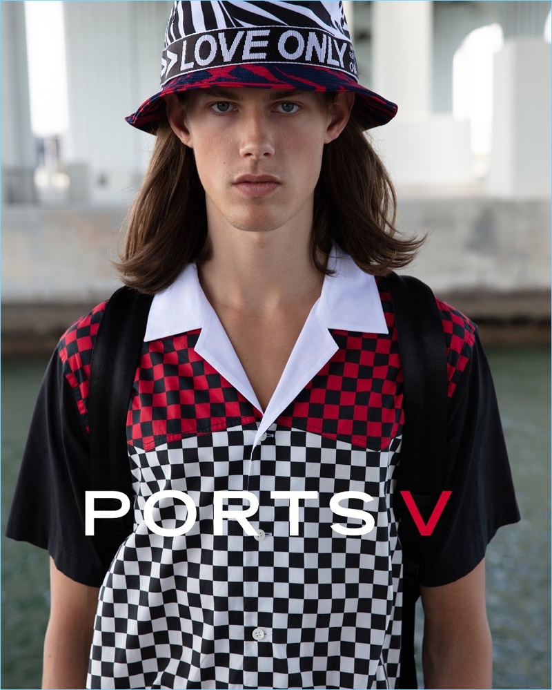 Ports V taps Marcus Rye as the face of its debut drop.