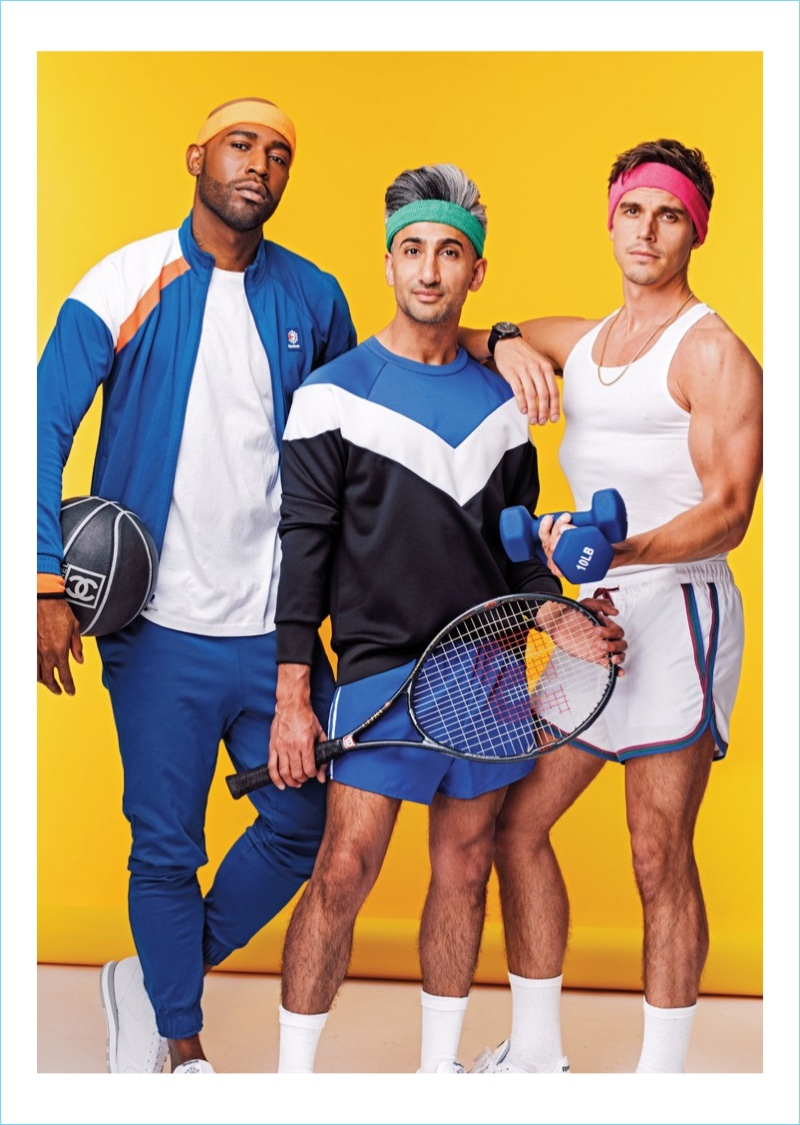 Queer Eye stars Karamo Brown, Tan France, and Antoni Porowski grace the pages of Time Out New York.