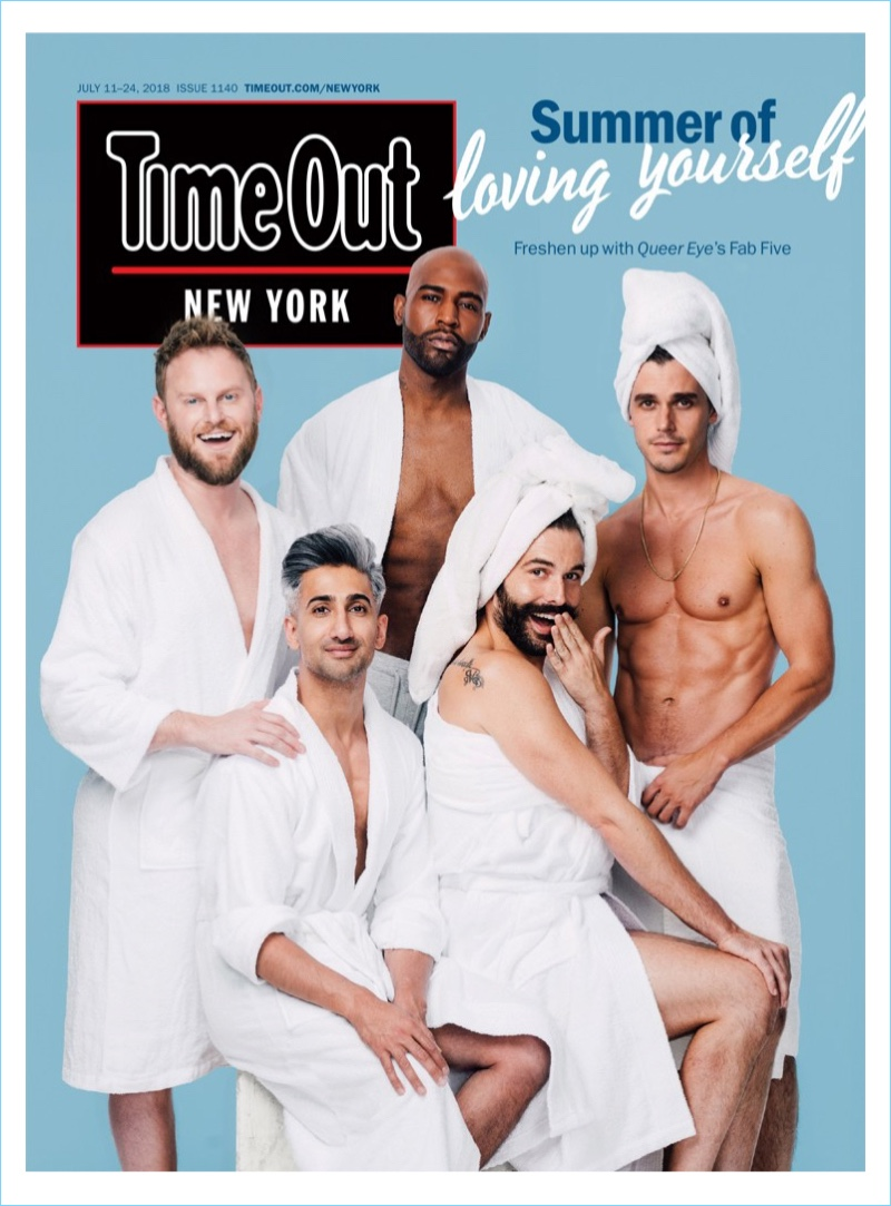 The cast of Queer Eye cover Time Out New York.