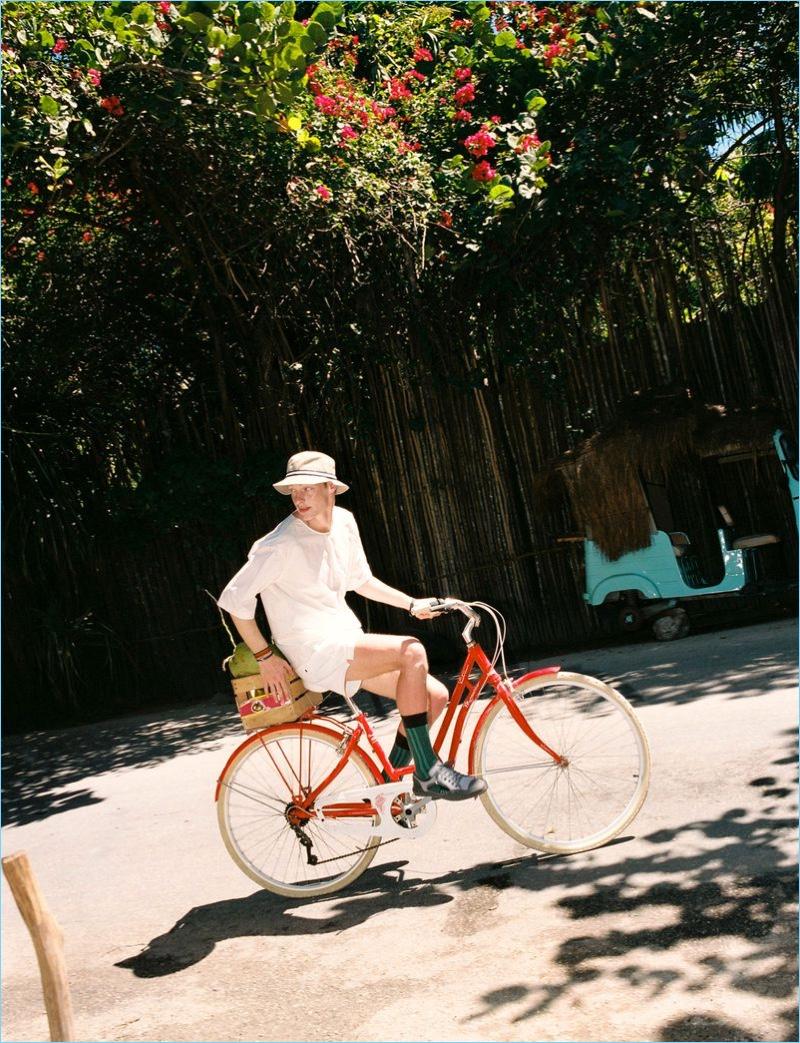 Roberto Sipos Vacations in México with El Pais Semanal