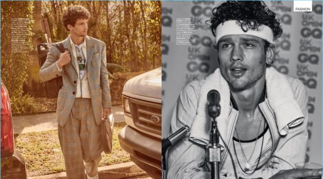 Court of Apparel: Simon Nessman for British GQ