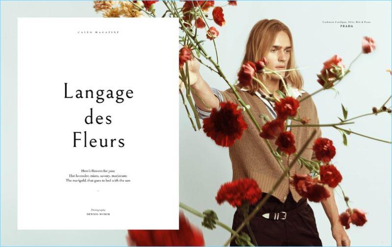 Langage des Fleurs: Ton Heukels for Caleo Magazine