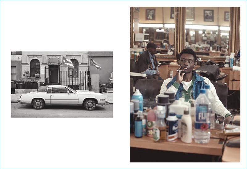 Youssouf Bamba Explores Harlem in Gucci for VMAN