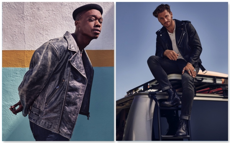 7 For All Mankind enlists Ashton Sanders and Philippe LeBlond as the stars of its fall-winter 2018 men's campaign.