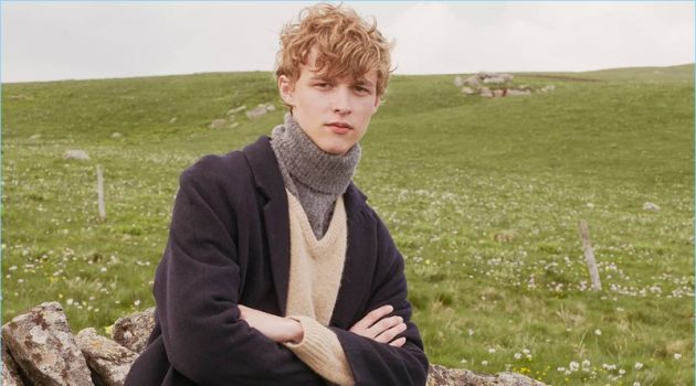 Max Barczak Takes to Scottish Prairies with American Vintage for Fall '18