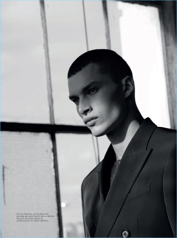 David Trulik & Louis Mayhew Model BOSS for Esquire España