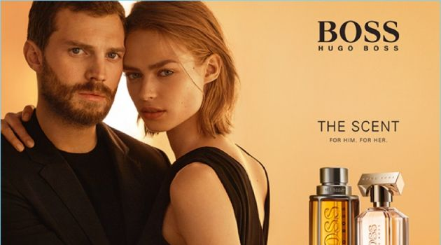 BOSS Hugo Boss enlists Jamie Dornan and Birgit Kos as the faces of its fragrance The Scent.