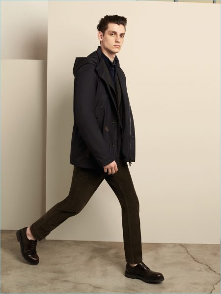 CC Collection Corneliani Balances Smart & Current Style for Fall '18