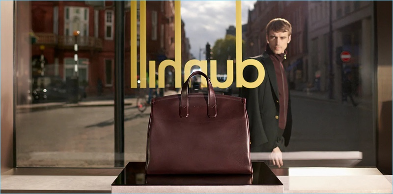 Dunhill enlists Clément Chabernaud as the star of its fall-winter 2018 campaign.