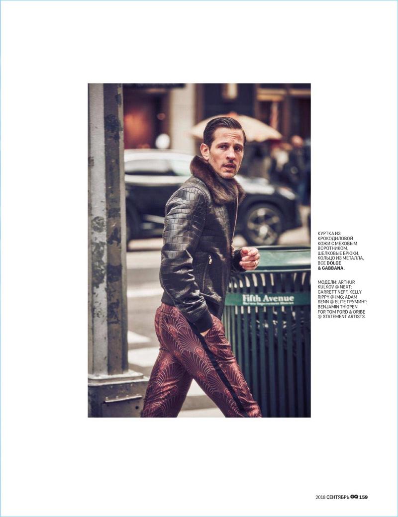 Garrett Neff, Arthur Kulkov + More Don Dolce & Gabbana Alta Sartoria for GQ Russia