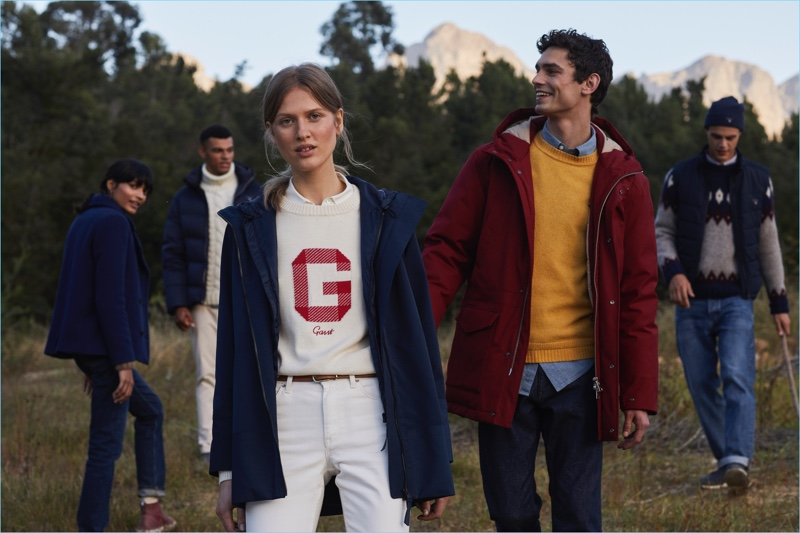 """Gant unveils its fall-winter 2018 campaign """"Celebrating Togetherness."""""""