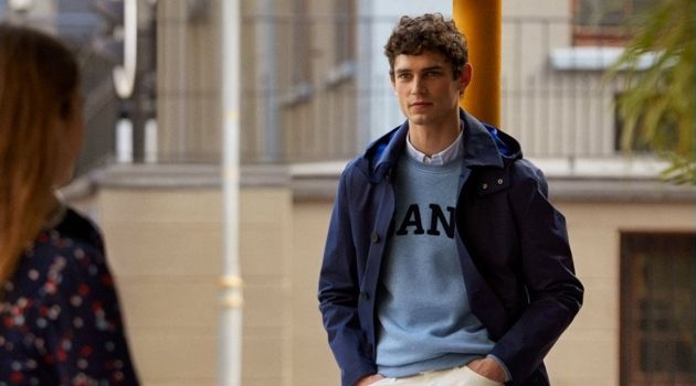 Arthur Gosse stars in Gant's fall-winter 2018 campaign.