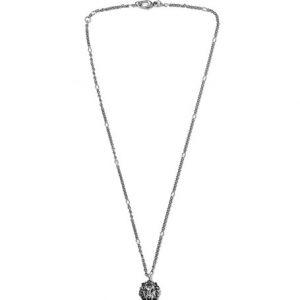 6763d004d4bb  595.00 Buy · Gucci - Burnished Silver-Tone Swarovski Crystal Necklace -  Silver