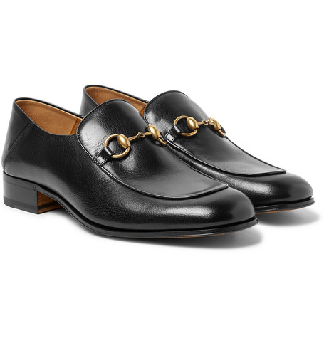 c12eb65a7 Gucci – Mister Horsebit Collapsible-Heel Leather Loafers – Men ...