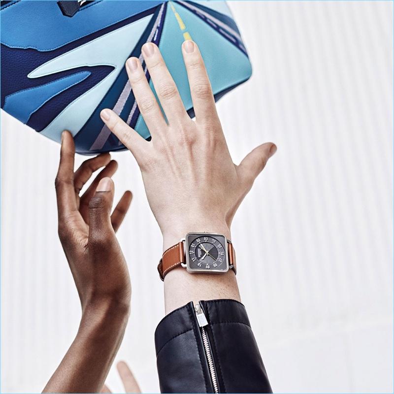 Hermès unveils its fall-winter 2018 men's campaign.