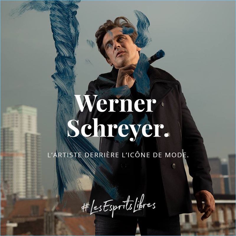IKKS taps Werner Schreyer as the star of its fall-winter 2018 campaign.