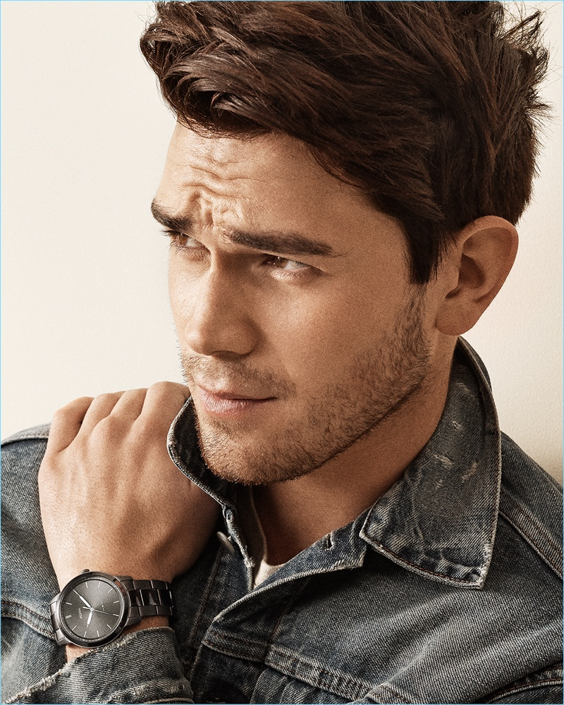 Riverdale star KJ Apa stars in a campaign for Fossil.