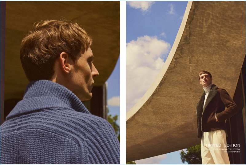 Roberto Sipos Sports Massimo Dutti Fall '18 Limited Edition Collection