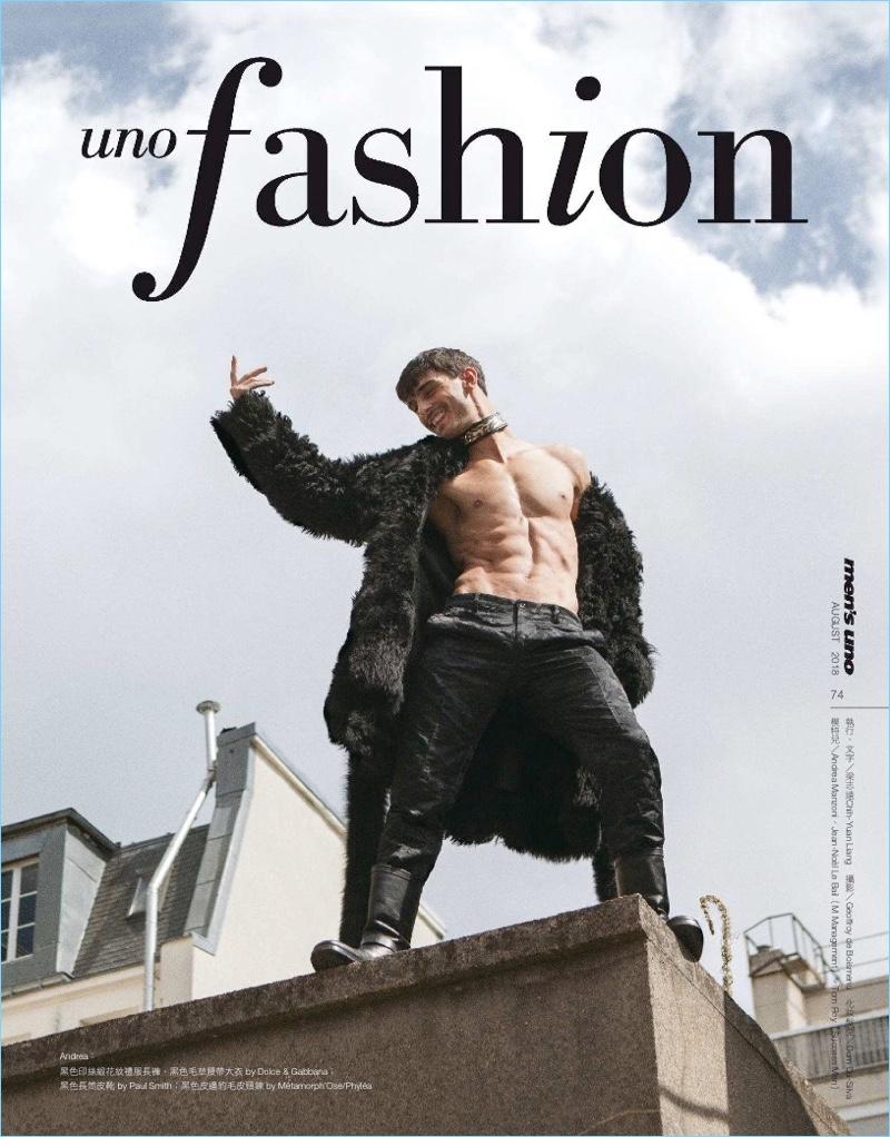 Les Apaches de la Bastille: Men's Uno Taiwan Tackles Fall Style