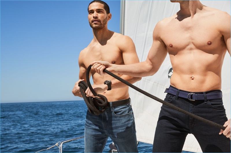 Nautica reunites with Daniel Pimentel and Edward Wilding for its fall-winter 2018 outing.