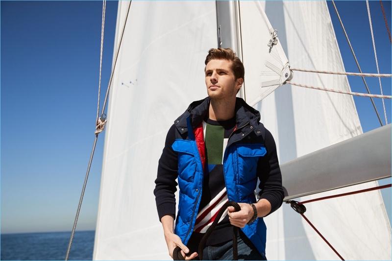 Edward Wilding & Daniel Pimentel Reunite with Nautica for Fall '18 Campaign