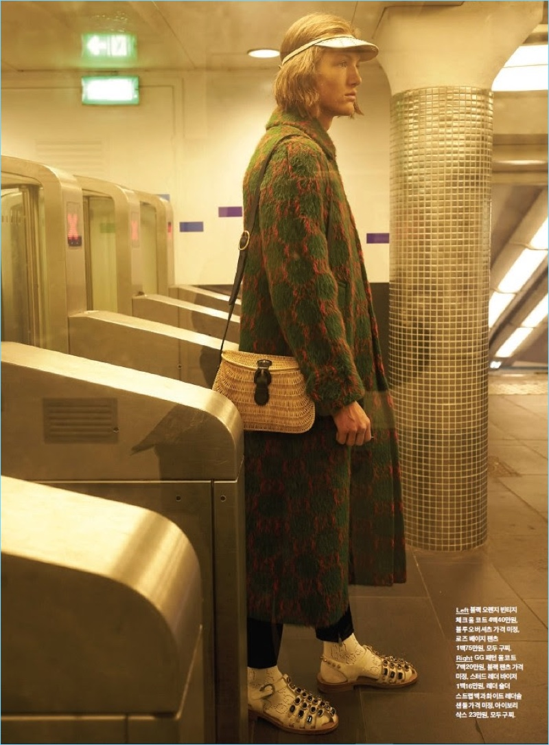 e9ad89583 Oliver Sonne | GQ Korea | 2018 | Cover | Editorial | Gucci | The ...