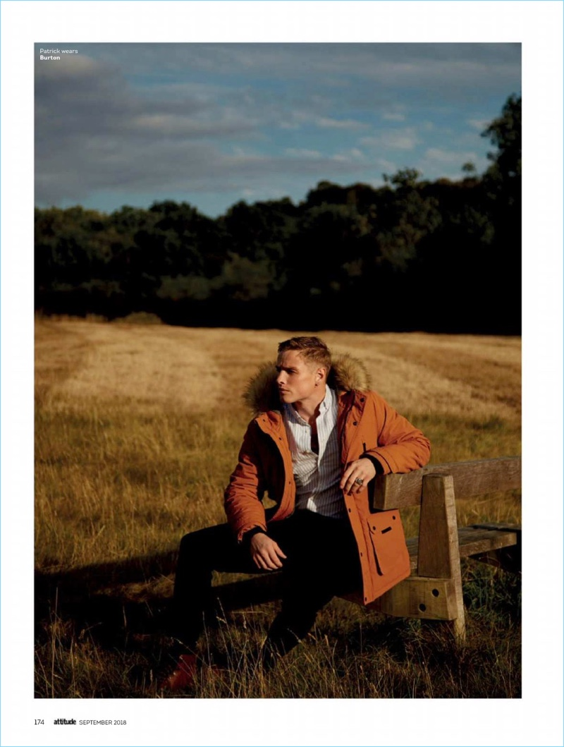 Take Me Away: Patrick O'Donnell Dons High Street Style for Attitude