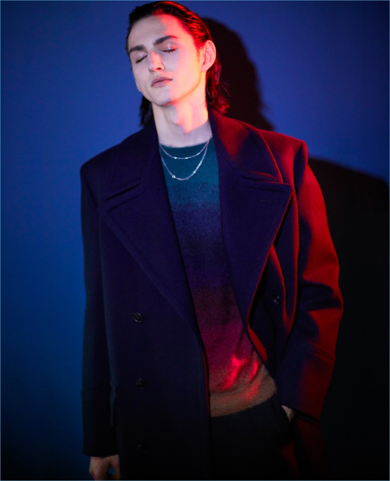 Paul Smith enlists Henry Raush as the star of its fall-winter 2018 campaign.