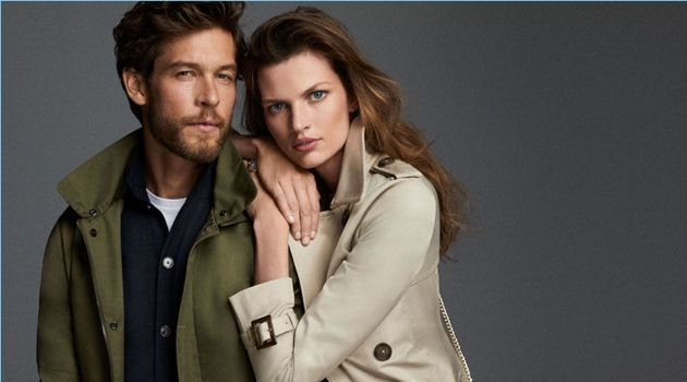 Models Josh Upshaw and Bette Franke star in a style story for Pedro del Hierro.