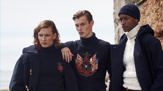 Ralph Lauren Purple Label Inspires with Fall '18 Nautical Style