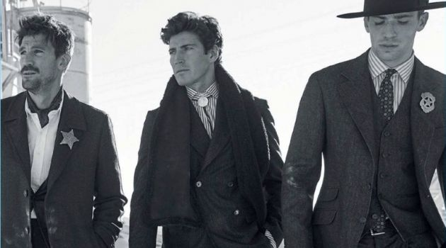 Oriol Elcacho, Henrik Fallenius & Ben Patton Go Western for The Rake